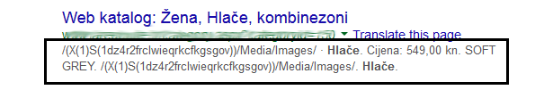 Loše napisani meta description
