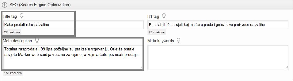 Savjeti o pisanju internetskog profila