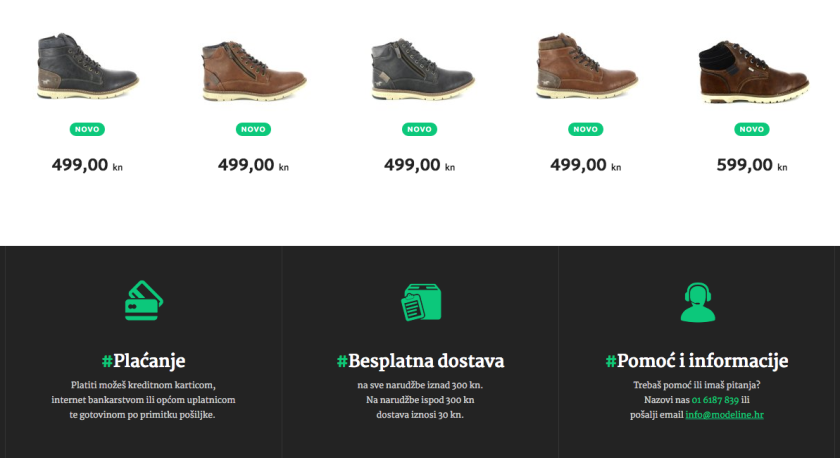 Web shop Modeline vješto je 'zapakirao' besplatnu dostavu u svoju marketinšku strategiju