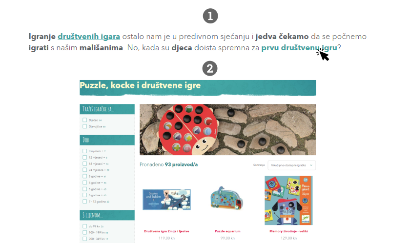 Upoznavanje web stranica za igrače