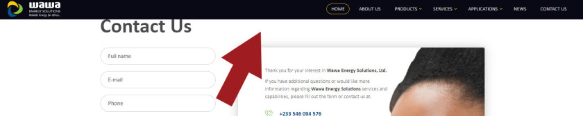 Fiksni izbornik Wawa Energy Solution